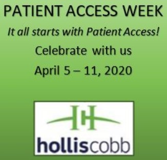 HOLLIS COBB GEARING UP TO RECOGNIZE CLIENTS DURING PATIENT ACCESS WEEK