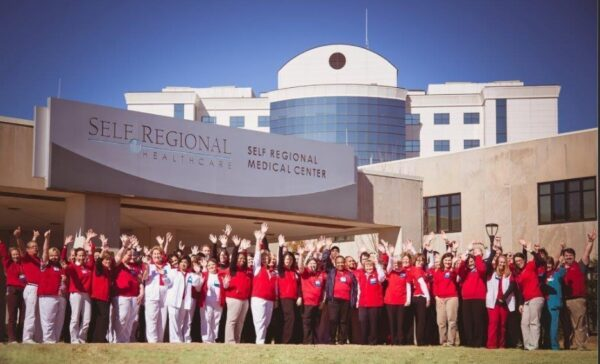 Hollis Cobb Team Earns Rave Review from Self Regional Healthcare